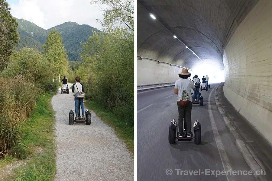 Oesterreich, Tirol, Olympiaregion Seefeld, Segway Tour,