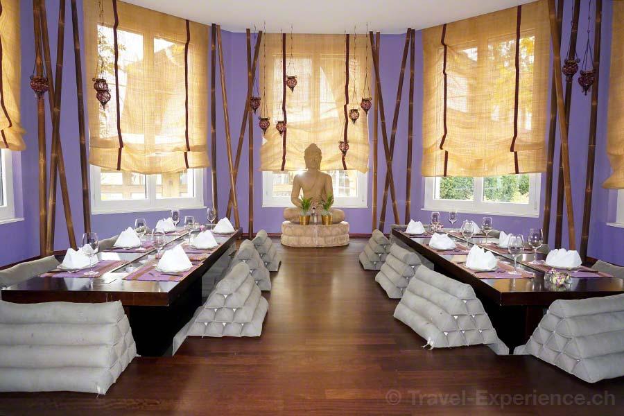 Seerose Resort & Spa, Meisterschwanden, Hallwilersee, Restaurant Samui-Thai,