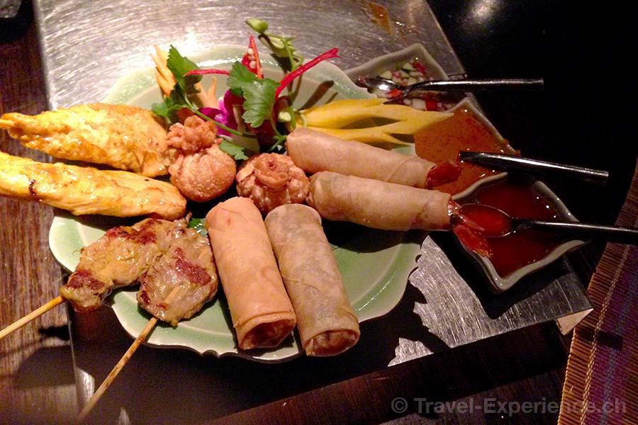Seerose Resort & Spa, Meisterschwanden, Hallwilersee, Restaurant Samui-Thai, Vorspeisen, thailändisch