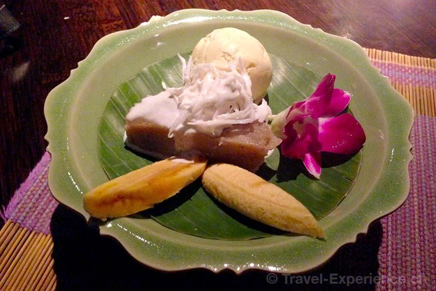 Seerose Resort & Spa, Meisterschwanden, Hallwilersee, Restaurant Samui-Thai, Dessert, thailändisch