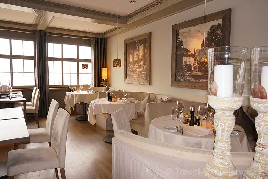 Seerose Resort & Spa, Meisterschwanden, Hallwilersee, Restaurant, Classic, Institution