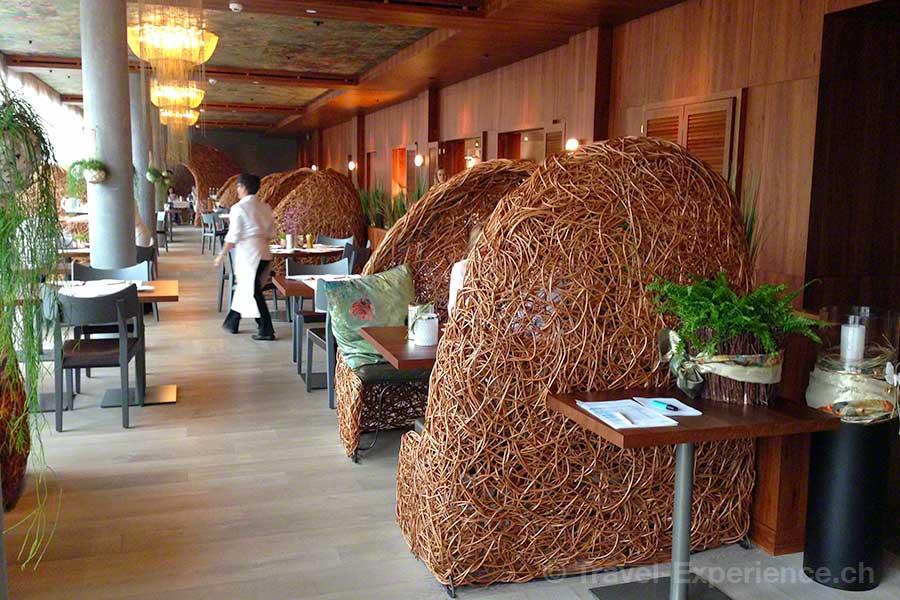 Seerose Resort & Spa, Meisterschwanden, Hallwilersee, Restaurant Cocon, Frühstück, Abendessen