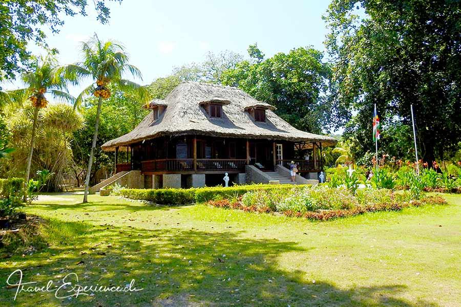 Seychellen, Sea Star, La Digue, planters house, coconut plantation, Union Estate, Museum