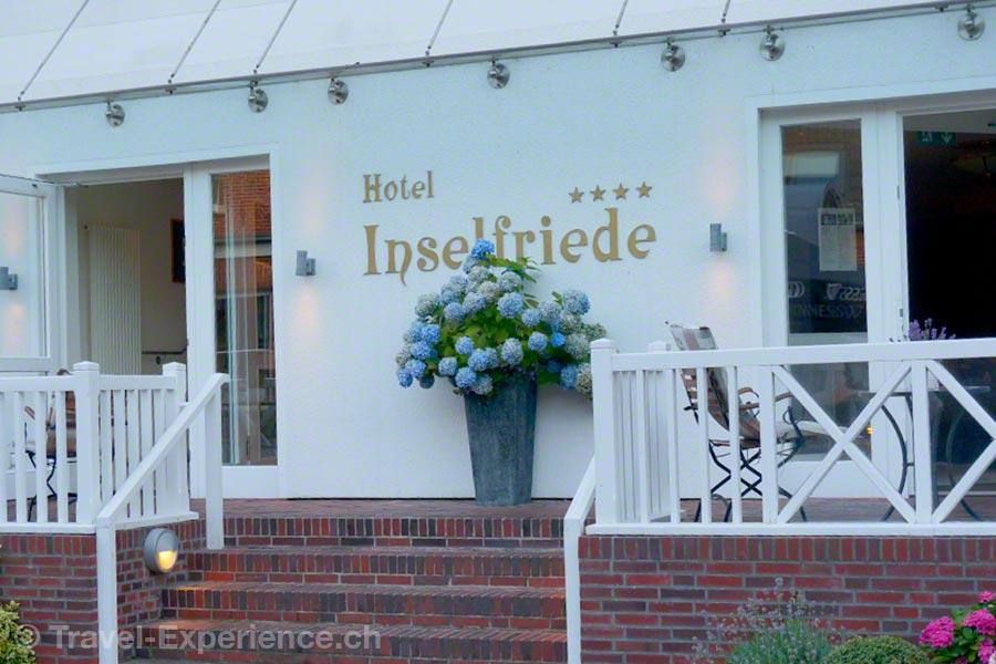 Ostfriesland, Spiekeroog, Hotel Inselfriede