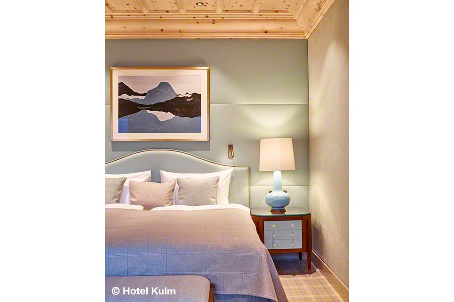 Schweiz, Graubünden, St. Moritz, Kulm Hotel, Junior Suite