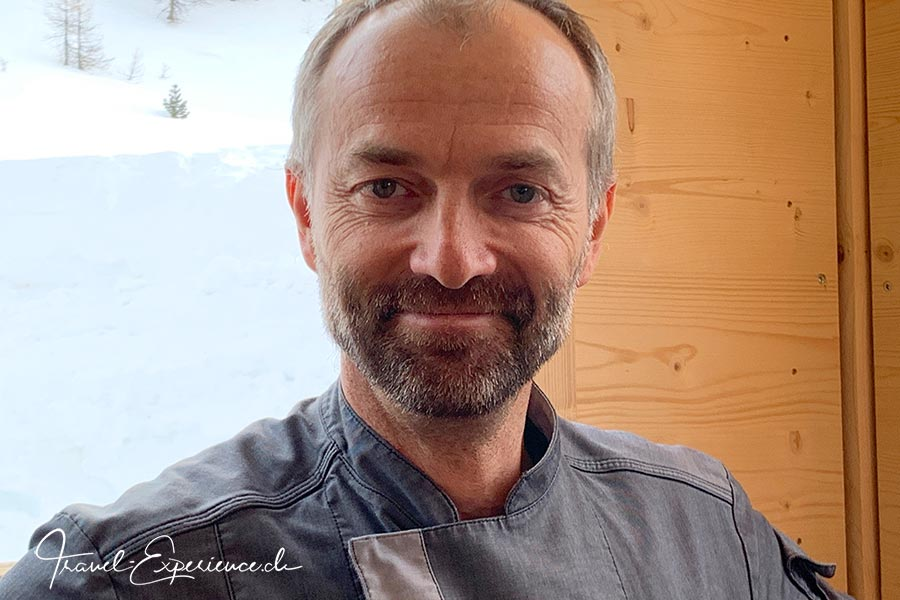 Schweiz, Wallis, Zermatt, Bergrestaurant Stafelalp, Chefkoch, Chef de Cuisine, Hubert Koenig,