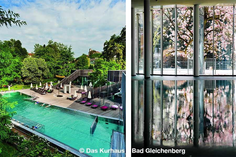 Steiermark, Bad Gleichenberg, Pool