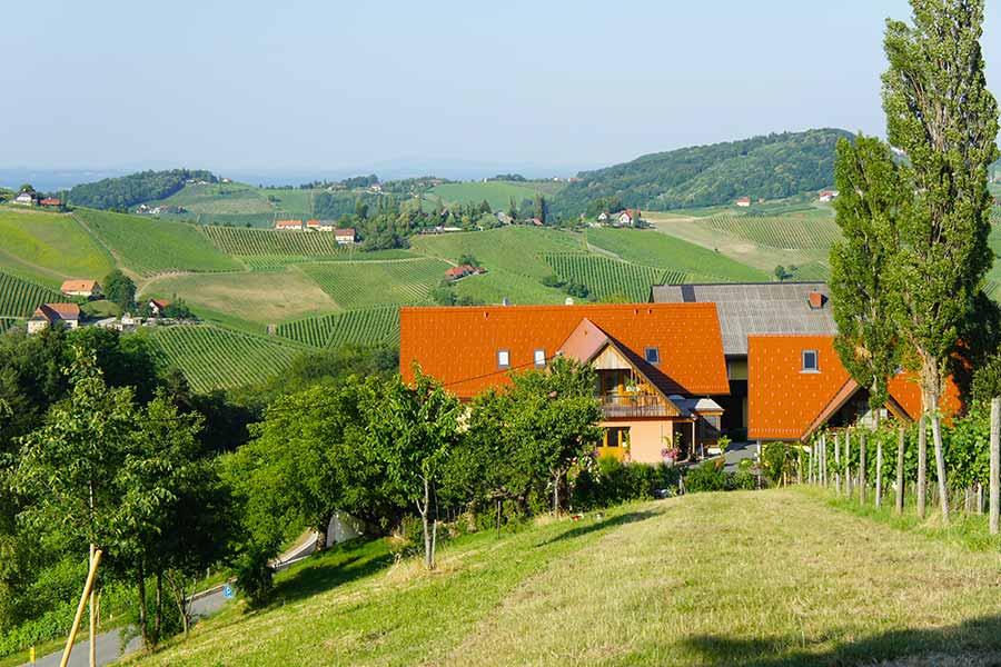 Südsteiermark, Weinstrasse, Dreisiebner Stammhaus