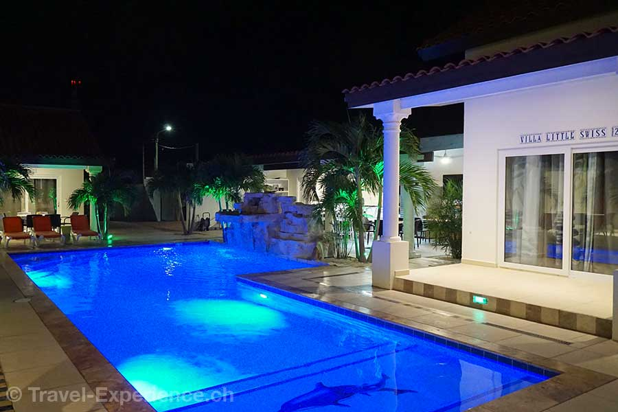 Karibik, Aruba, Swiss Paradise, Pool