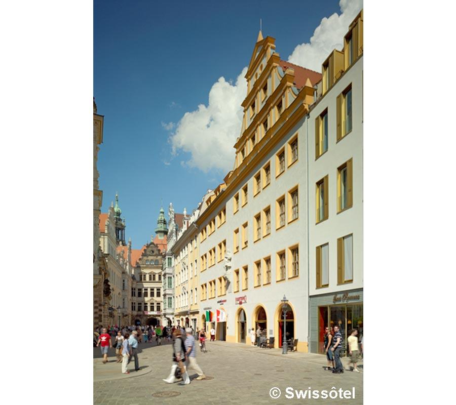 Dresden, Swissôtel, Aussen
