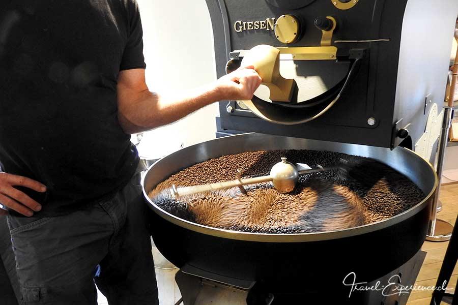 Deutschland, Sylt, Kaffeeroesterei