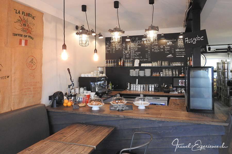 Deutschland, Sylt, Kaffeeroesterei, Cafe