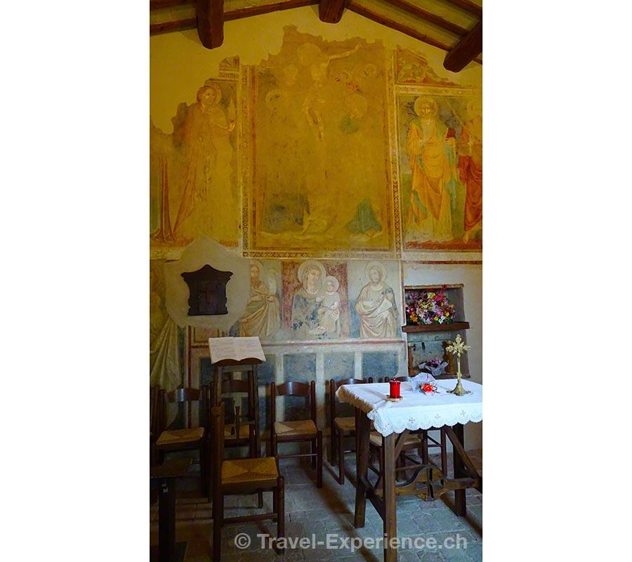 Italien, Umbrien, Castello Monticelli, Kapelle San Paolo