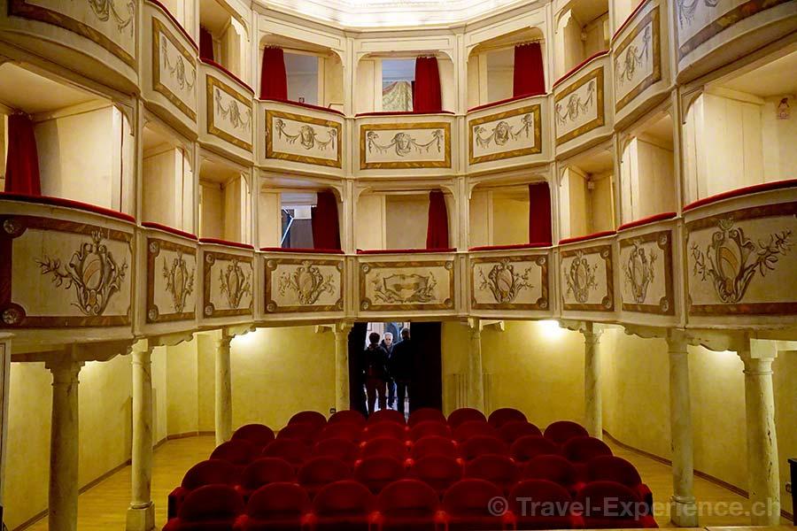 Italien, Umbrien, Monte Castello di Vibio, Teatro della Concordia, teatro piccolo