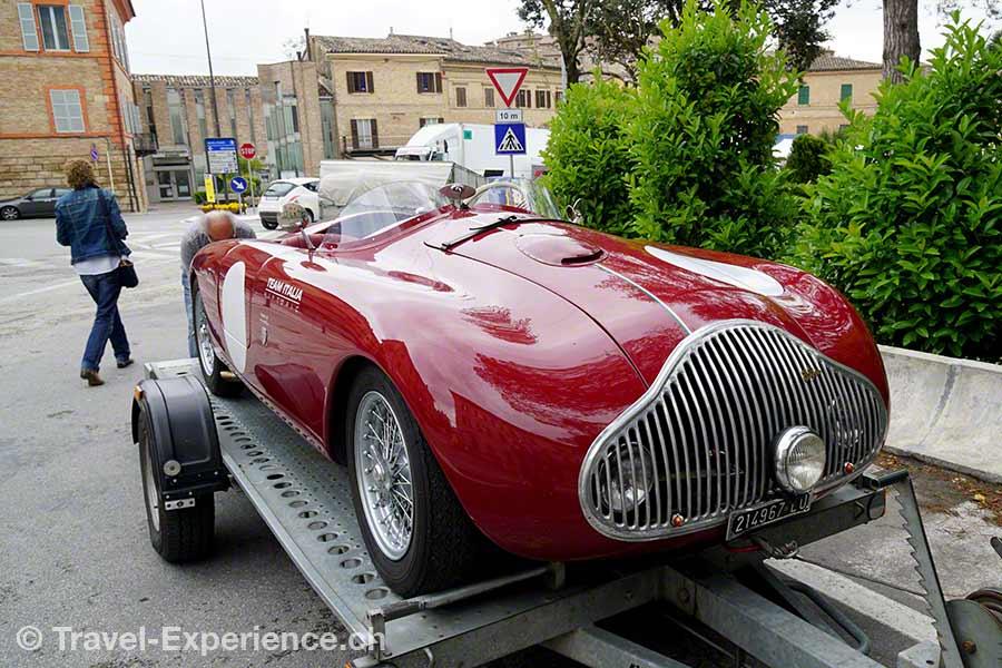 Italien, Marken, Sarnano, Fiat, Oldtimer, Rennwagen