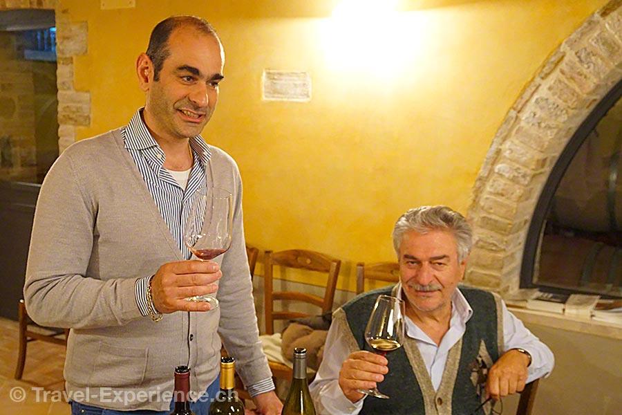 italien, Toskana, Le Buche, Wein, Giuseppe Olivi, Riccardo Olivi