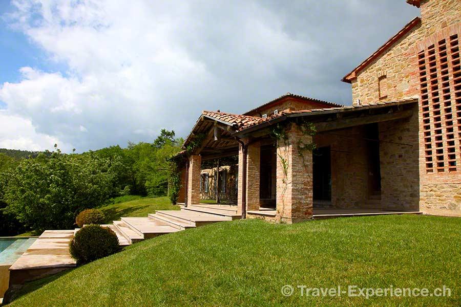 Italien, Toskana, Castello di Reschio, Villa