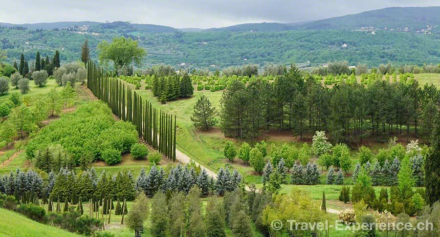 Toskana, Landschaft