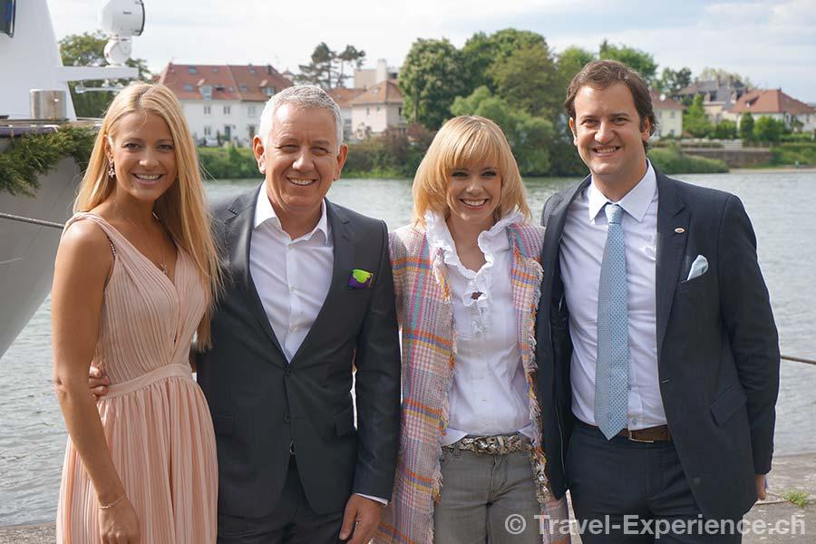 Excellence Princess, Taufe, Christa Rigozzi, Röbi Koller, Francine Jordi, Kerim Twerenbold
