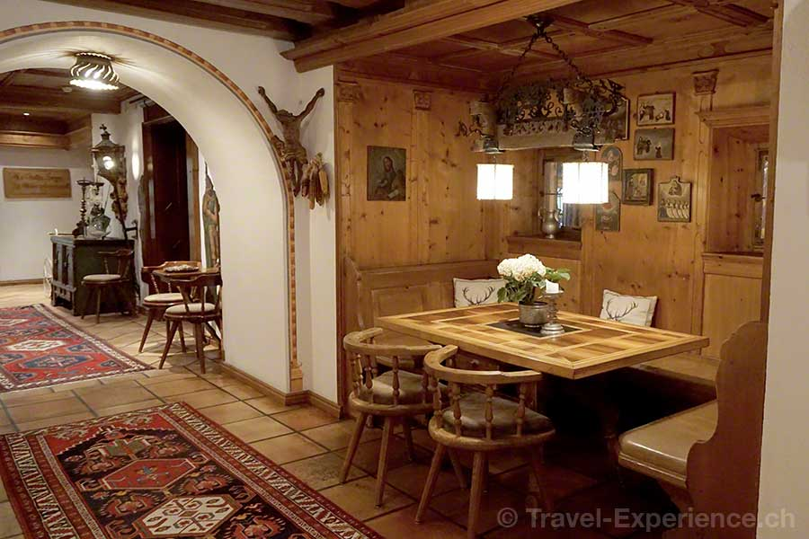 Österreich, Tirol, Zillertal, Zell, Hotel Theresa, Stube