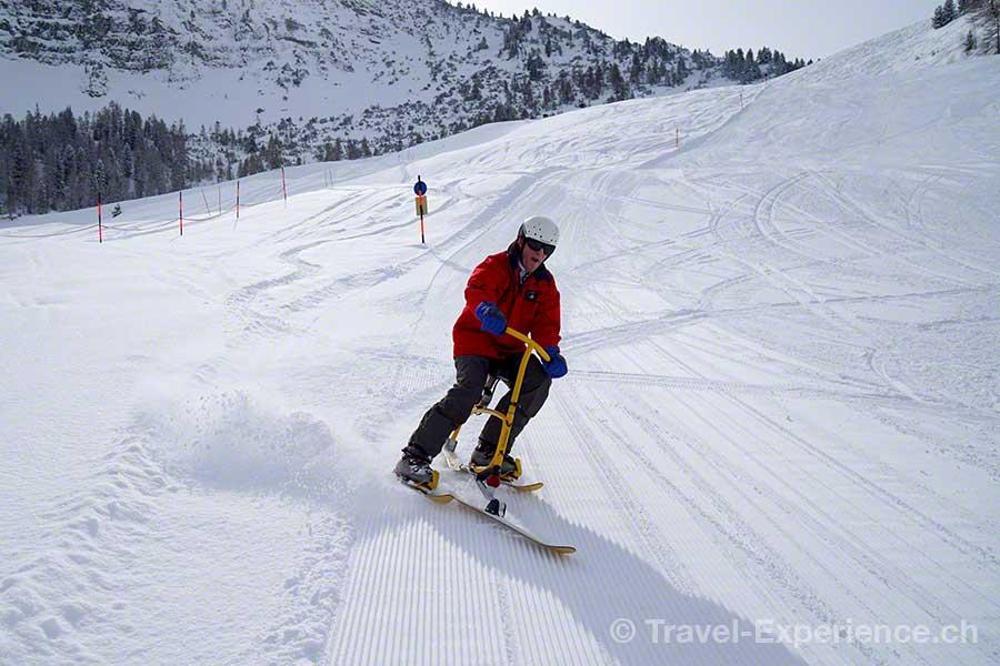 Österreich, Tirol, Zillertal, Zell, Hotel Theresa, Snowbiken, Hainzenberg, Gerlosstein Bahn