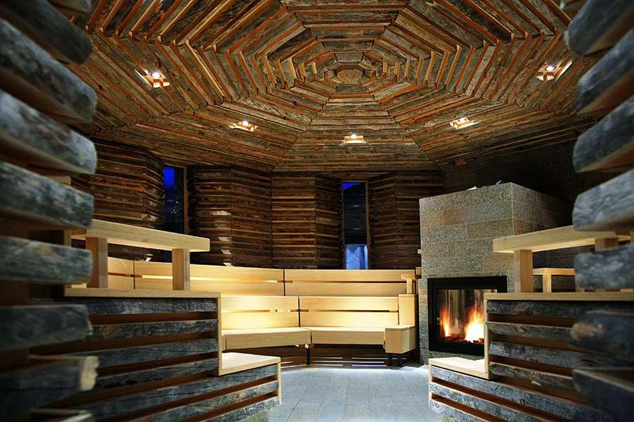 Tschuggen Grand Hotel, Arosa, Bergoase, Sauna, © Tschuggen Hotel Group