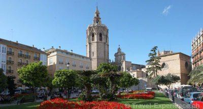 Valencia, Plaza de la Reina, Kathedrale Valencia, Postamt Valencia, Plaza de Ayuntamiento