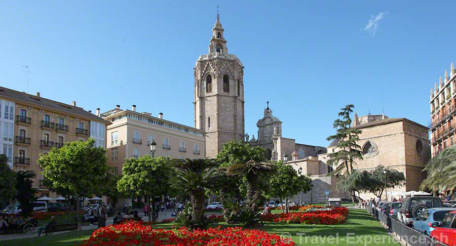Valencia, Plaza de la Reina, Kathedrale