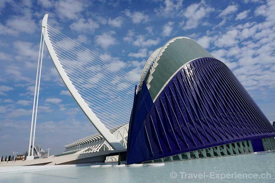 Valencia, Stadt der Künste und Wissenschaften, Agora
