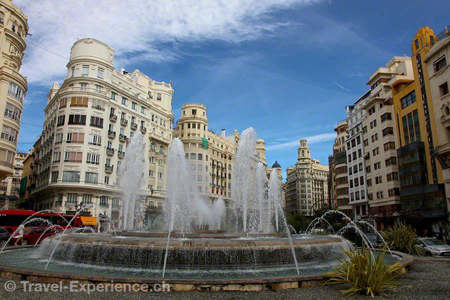 Valencia, Plaza de Ayuntamiento