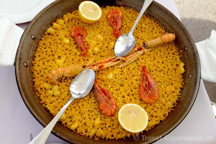 Valencia, El Palmar, La Sequiota, Paella