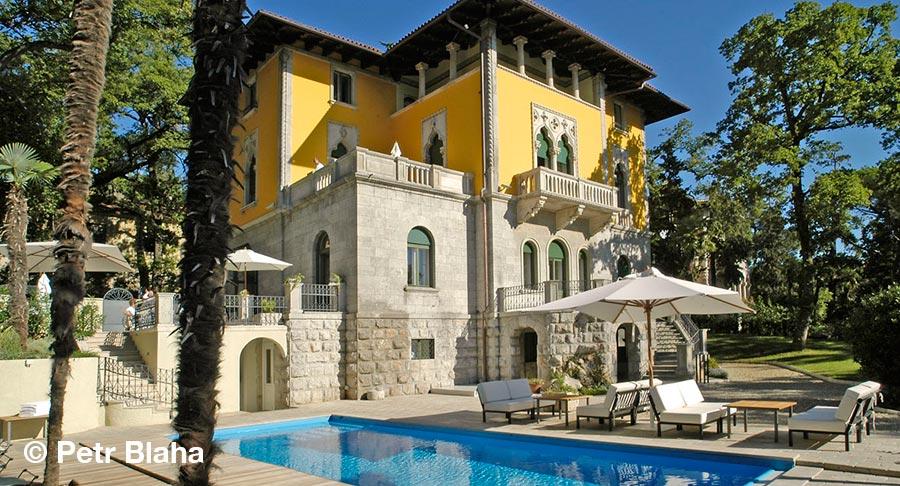 Kroatien, Kvarner, Lovran, Villa Astra