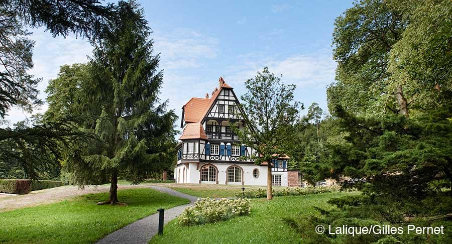 Villa René Lalique, Wingen-sur-Moder, Elsass, Hotel, Hideaway Museum René Lalique, Wingen-sur-Moder, Elsass, Schmuck Museum René Lalique, Wingen-sur-Moder, Elsass, Parfumflacons