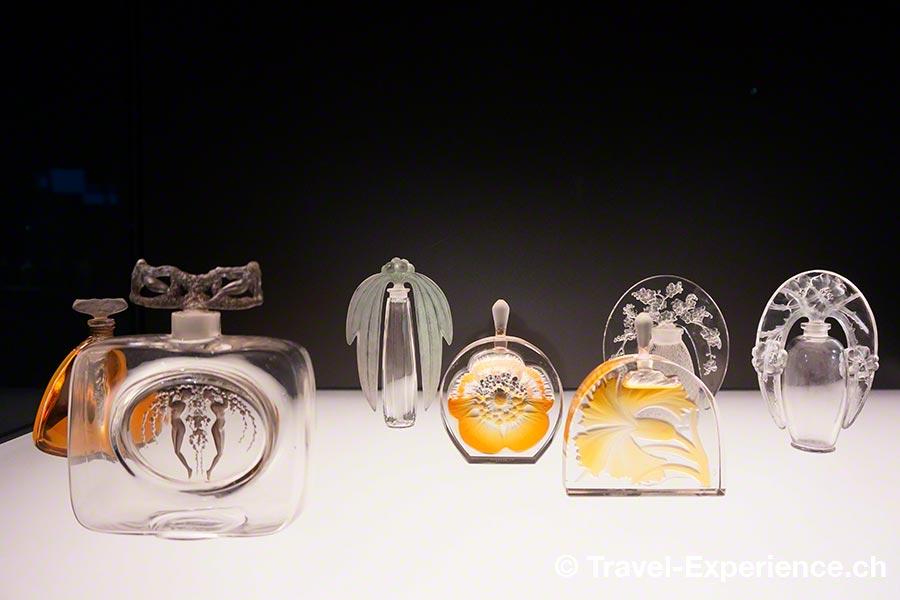 Museum René Lalique, Wingen-sur-Moder, Elsass, Parfumflacons