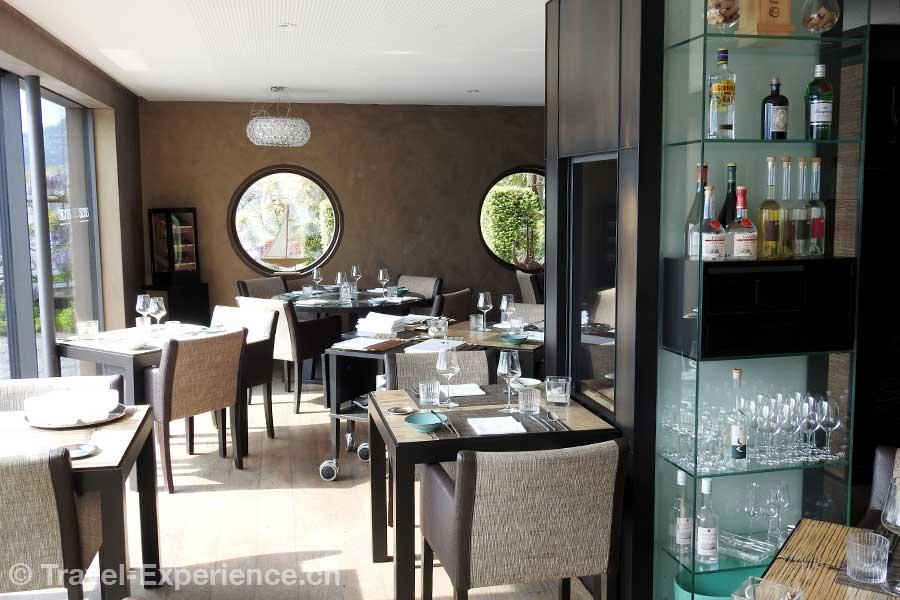 Hotel Vitznauerhof, Vitznau, Vierwaldstaettersee, Gourmetrestaurant Sense