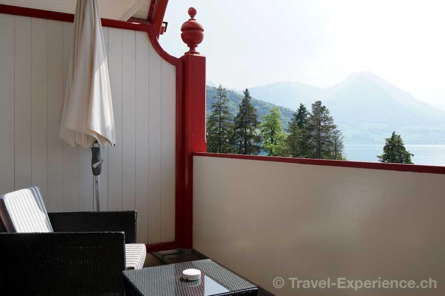 Hotel Vitznauerhof, Vitznau, Vierwaldstaettersee, Rigisuite, Balkon