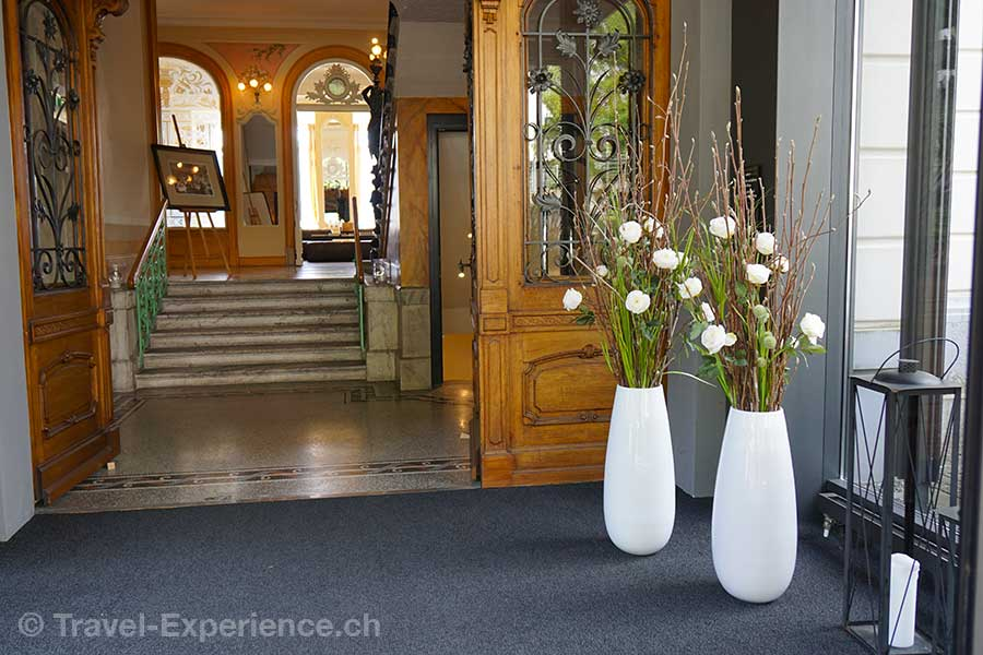 Hotel Vitznauerhof, Vitznau, Vierwaldstaettersee, Entree