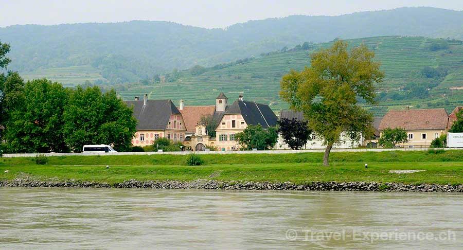 Wachau, Holzapfels Prandtauerhof, Donau, Barock