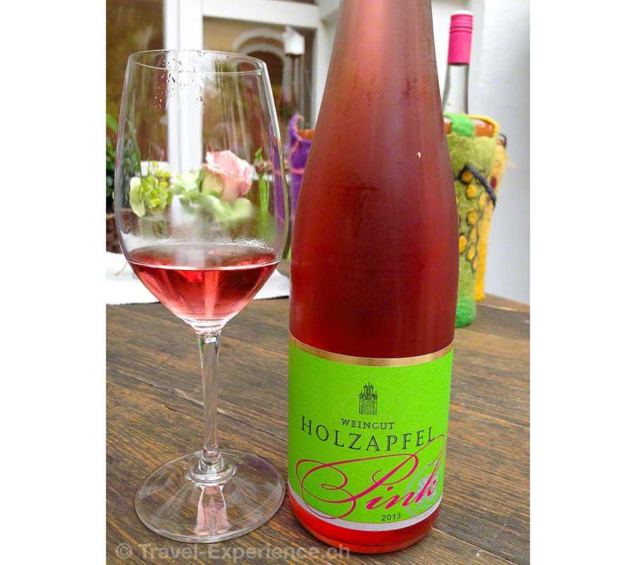 Wachau, Holzapfels Prandtauerhof, Pink, Rosé, Wein