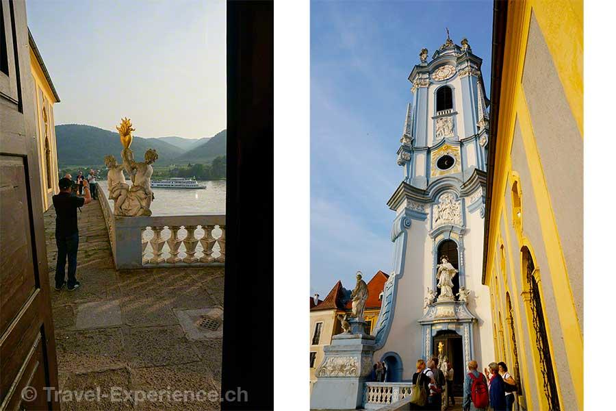 Wachau, Dürnstein, Stift, Glockenturm