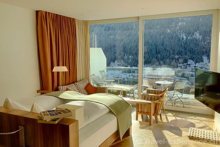 Schweiz, Davos, Waldhotel, Zimmer, 5. Stock, 5. Etage