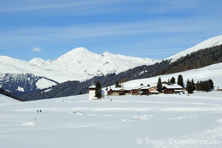Schweiz, Davos, Waldhotel, Sertigtal, Winterwonderland