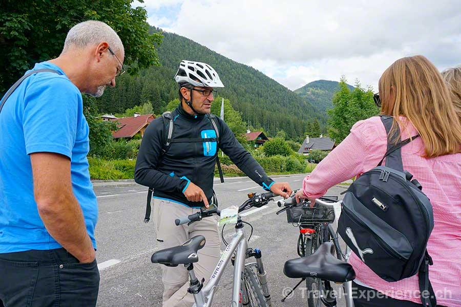 Kärnten, Weissensee, Velo, Fahrrad