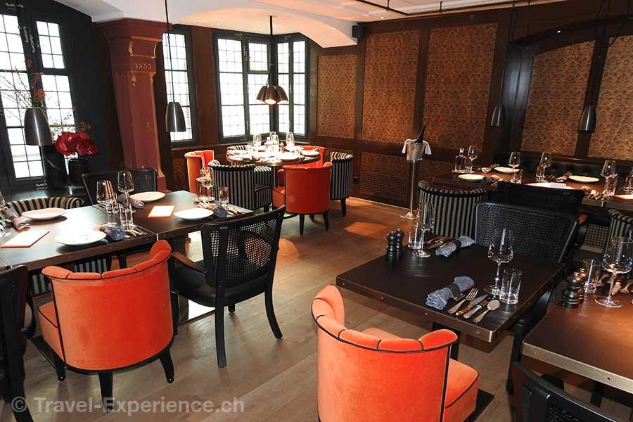 Schweiz, Zuerich, Kultbar, Widder Bar & Kitchen, Erker Stuebli
