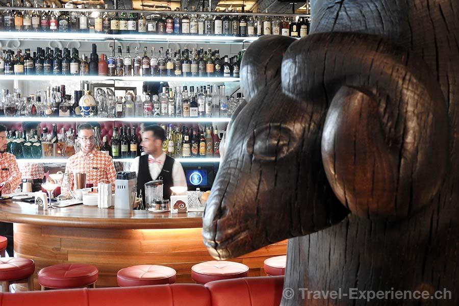 Schweiz, Zuerich, Kultbar, Widder Bar & Kitchen, Bar