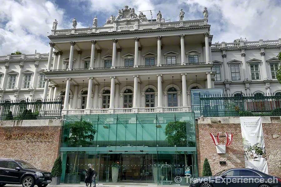 Oesterreich, Wien, Palais Coburg, Spargelburg
