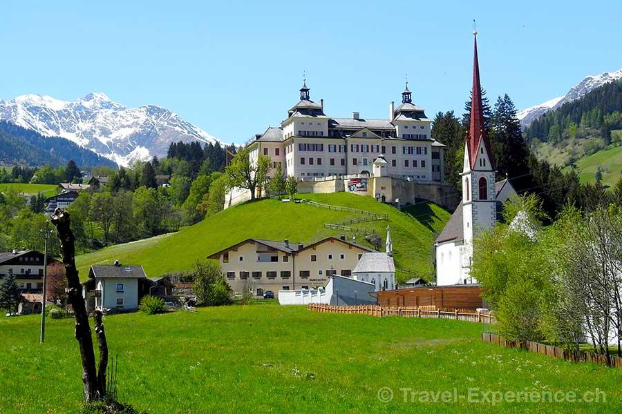 Italien, Suedtirol, Mareit, Schloss Wolfsthrun
