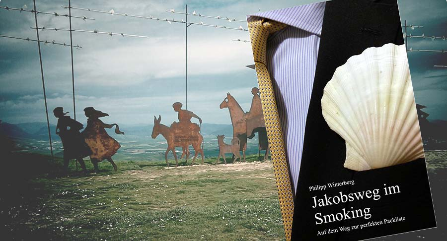 Jakobsweg im Smoking, Buch, Philipp Winterberg