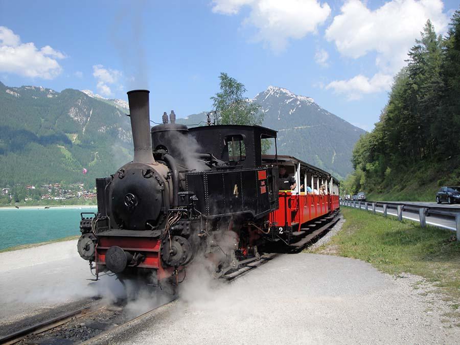 Achensee: Brennender Stein und Alpen-Whisky 8