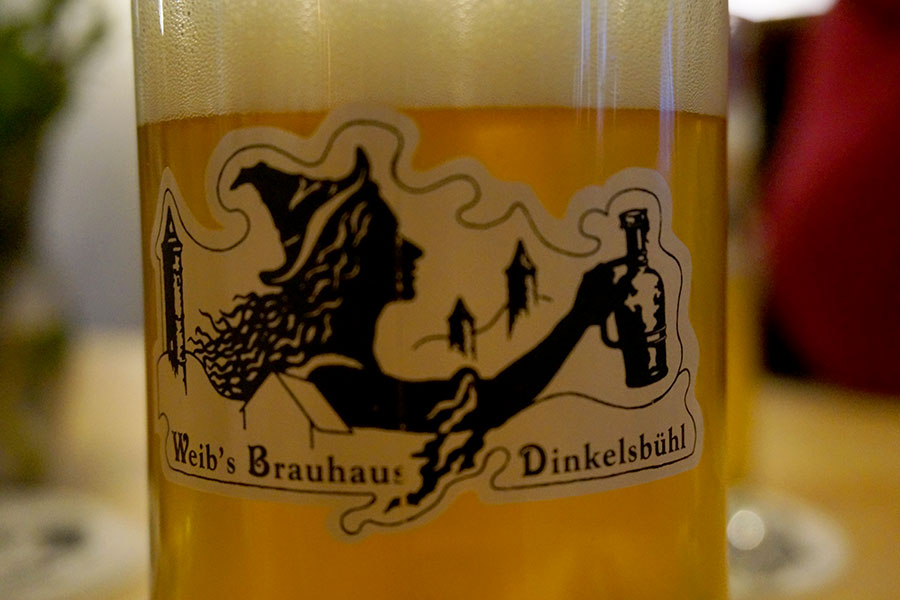 Dinkelsbuehl, Weibs Brauhaus, Bier